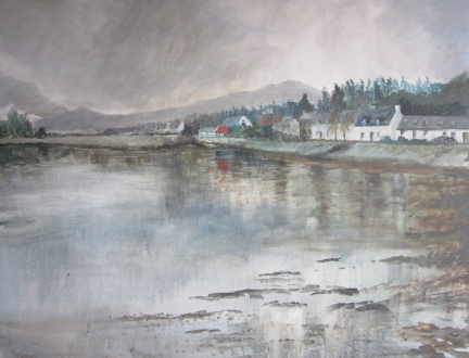 Rainy Day, Lochcarron - SOLD - prints available from Fine Art America