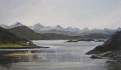 Skye from North Strome SOLD - available as a print from Fine Art America