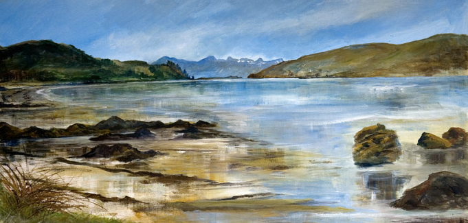 On the Beach at Achintraid - SOLD _prints available from Fine Art America