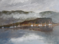 Boats at Slumbay - SOLD - prints available from Fine Art America
