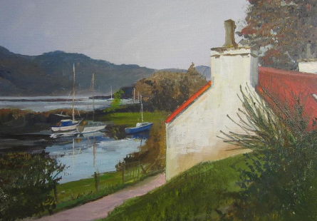 Autumn Light on Reraig SOLD - prints available from Fine Art America
