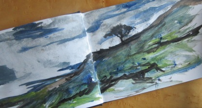 Loch Maree sketch